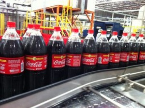Coca-Cola produção